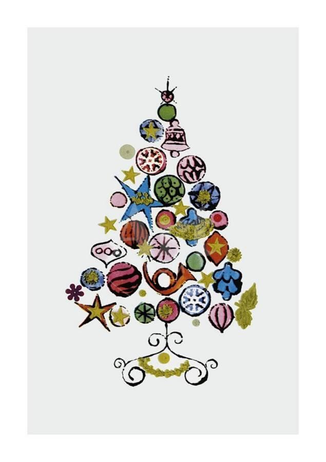 Christmas Tree, c.1958 Giclee Print by Andy Warhol | Art.com