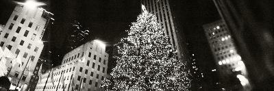 Christmas Tree Lit Up at Night, Rockefeller Center, Manhattan, New York City, New York State, USA--Photographic Print