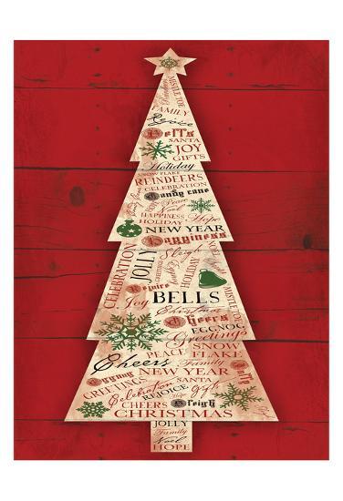 Christmas Tree-Jace Grey-Art Print
