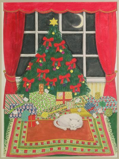 Christmas Tree-Linda Benton-Giclee Print