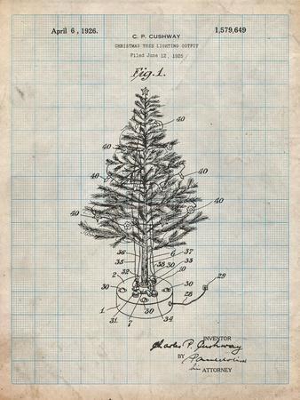 Christmas Tree-Cole Borders-Art Print