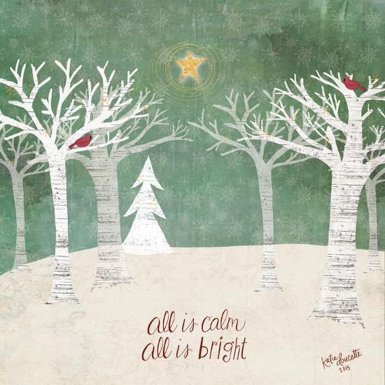 Christmas Trees-Katie Doucette-Premium Giclee Print