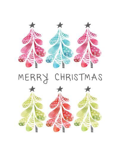 Christmas Trees-Sara Berrenson-Art Print