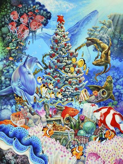 Christmas under the Sea-Tim Knepp-Giclee Print