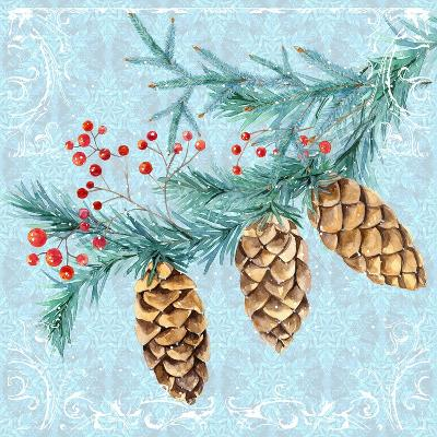 Christmas V-Irina Trzaskos Studios-Giclee Print