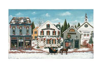 Christmas Village I-David Cater Brown-Art Print