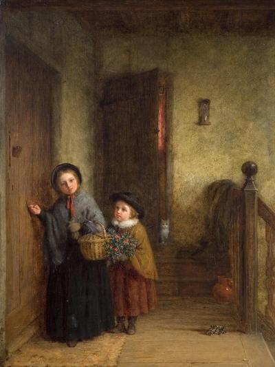 Christmas Visitors, 1869-Frederick Daniel Hardy-Giclee Print