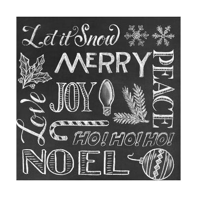 Christmas Wrap 1-CJ Hughes-Giclee Print