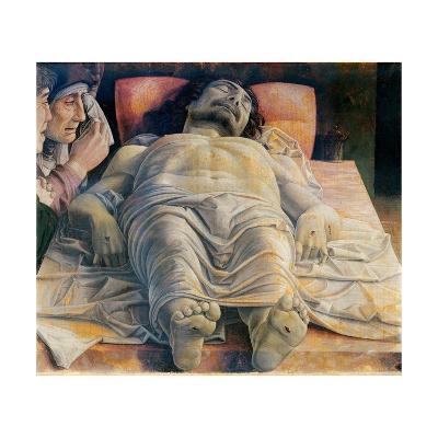 Christo in Scurto (Foreshortened Christ or the Dead Christ)-Andrea Mantegna-Art Print