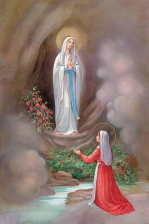 Lady of Lourdes Bernadette