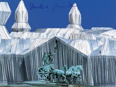 Reichstag - Quadriga - Signed