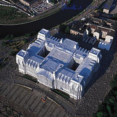 Reichstag von West Nach Ost - Signed