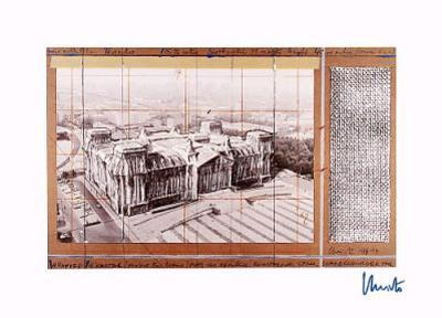 Reichstag X - Signed by Christo