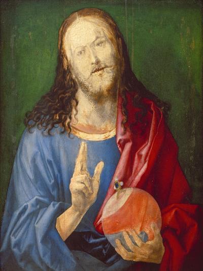 Christo Salvator Mundi (Unfinished), C. 1501-04-Albrecht D?rer-Giclee Print