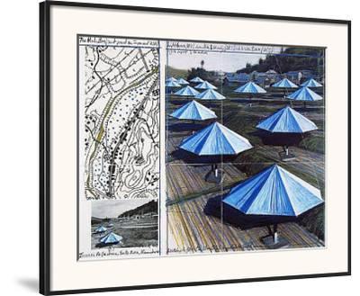 The Blue Umbrellas II