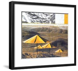 The Yellow Umbrellas, 1991 by Christo