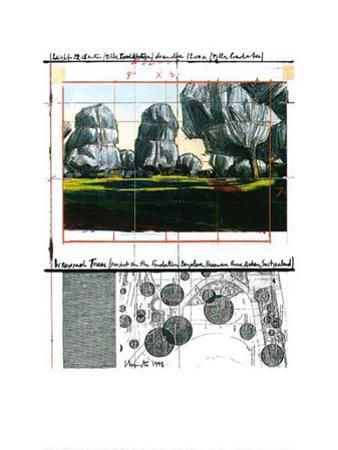 Wrapped Trees Nr.IV (Riehen)