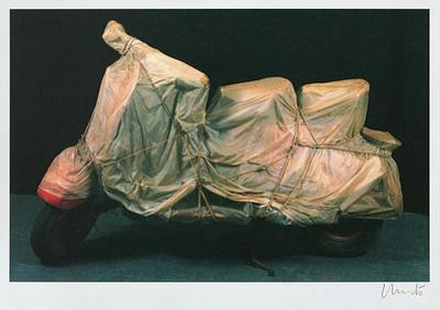Wrapped Vespa, c.1963/2001