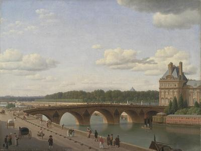 Pont Royal seen from Quai Voltaire, 1812