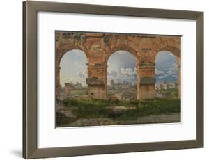 View Through Three Arches of the Third Storey of the Colosseum, 1815 by Christoffer-wilhelm Eckersberg