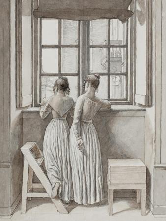 Window in the Artist's Studio, 1852