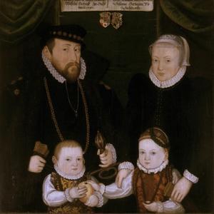 Triptych of Johann Wilhelm Von Sachsen, 1587 by Christoph Leutolph