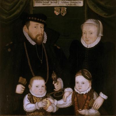 Triptych of Johann Wilhelm Von Sachsen, 1587