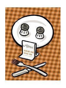 Deathly menu - Cartoon by Christoph Niemann