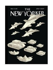 The New Yorker Cover - April 9, 2007 by Christoph Niemann