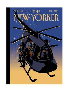 The New Yorker Cover - December 3, 2007 by Christoph Niemann