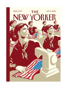 The New Yorker Cover - July 3, 2006 by Christoph Niemann