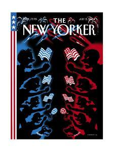 The New Yorker Cover - July 5, 2004 by Christoph Niemann