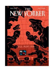 The New Yorker Cover - July 9, 2001 by Christoph Niemann