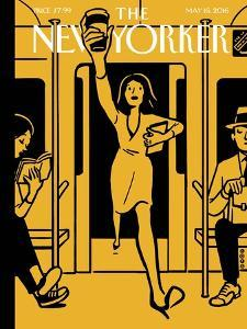 The New Yorker Cover - May 16, 2016 by Christoph Niemann