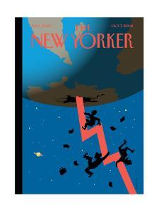 The New Yorker Cover - October 7, 2002 by Christoph Niemann