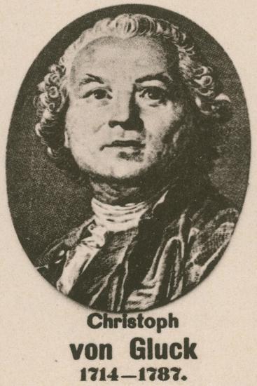 Christoph Von Gluck--Giclee Print
