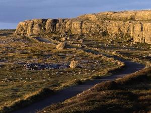 Landscape of The Burren by Christophe Boisvieux