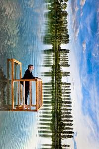 The Balcony (Tribute to P. Ramette) by Christophe Kiciak