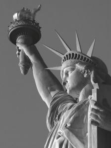 Liberty with Torch by Christopher Bliss