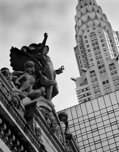 Mercury Statue and Chrysler Building by Christopher Bliss