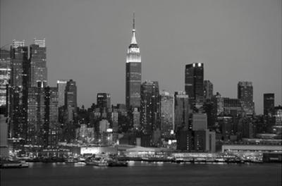 New York Skyline by Christopher Bliss