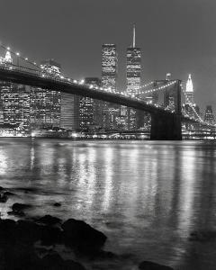 Beautiful brooklyn artwork for sale posters and prints the new night view of brooklyn bridge and manhattan skyline malvernweather Gallery