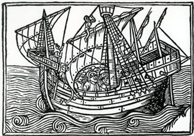 A Spanish Ship, 1496 by Christopher Columbus