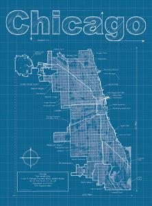 Beautiful city maps decorative art artwork for sale posters and chicago artistic blueprint map malvernweather Gallery