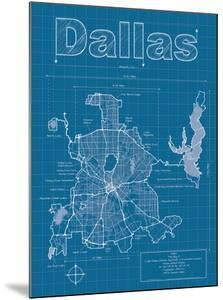 Maps artwork for sale posters and prints at art dallas artistic blueprint map malvernweather Image collections