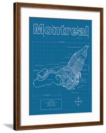 Montreal Artistic Blueprint Map
