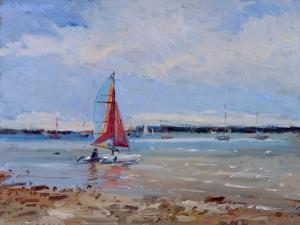 Catamaran, Brittany by Christopher Glanville