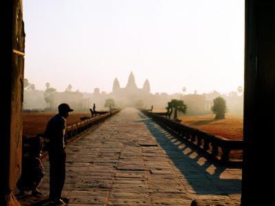 Angkor Wat at Dawn, Siem Reap, Cambodia