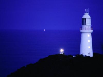 Cape Otway Lighthouse at Night, Otway National Park, Victoria, Australia