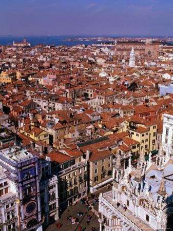City Rooftops, Venice, Veneto, Italy